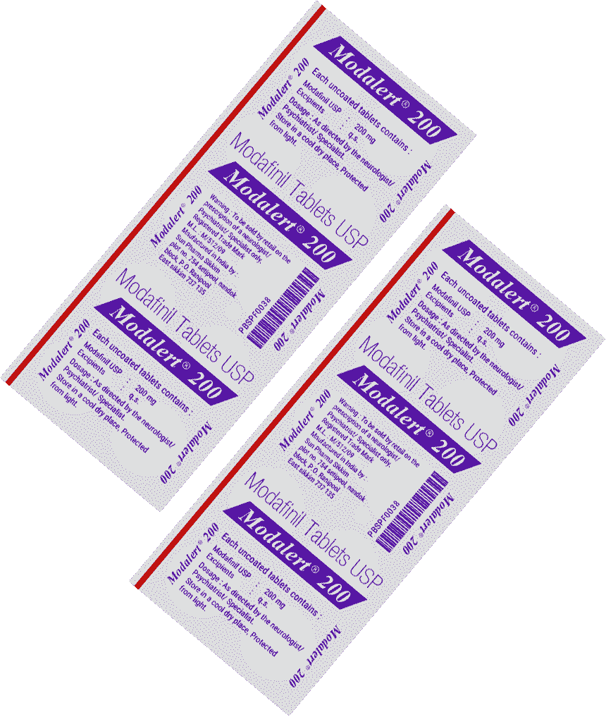 modafinil trial pack